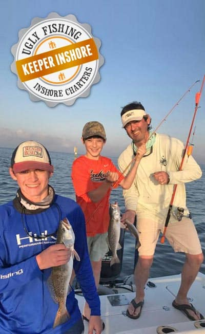 Keeper Inshore Ugly Fishing Mobile Bay Charters