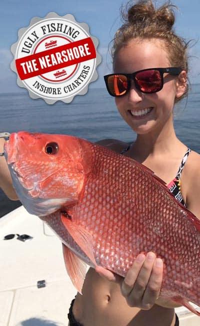 Nearshore Ugly Fishing Inshore Charter Fishing Package