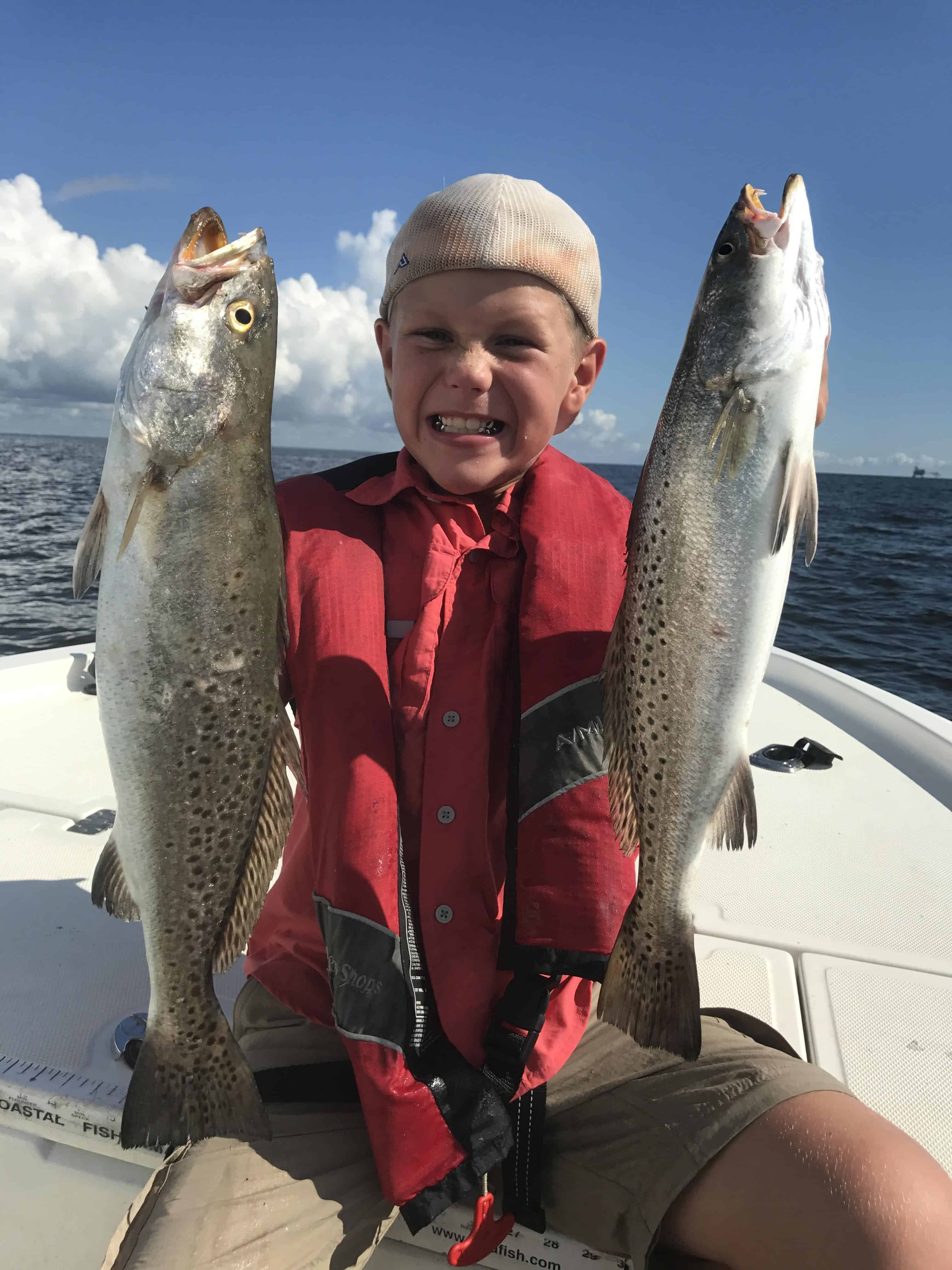 Gulf shores fort morgan mobile bay and dauphin island for Charter fishing gulf shores