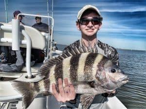 Sheepshead fishing charter