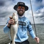 dauphin island speckled trout caught on slick lure