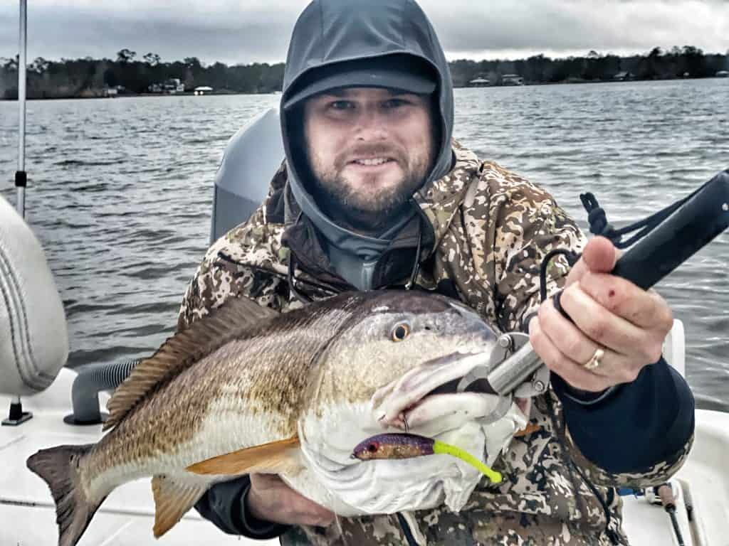 Trevor Wood Bull Redfish slick lure